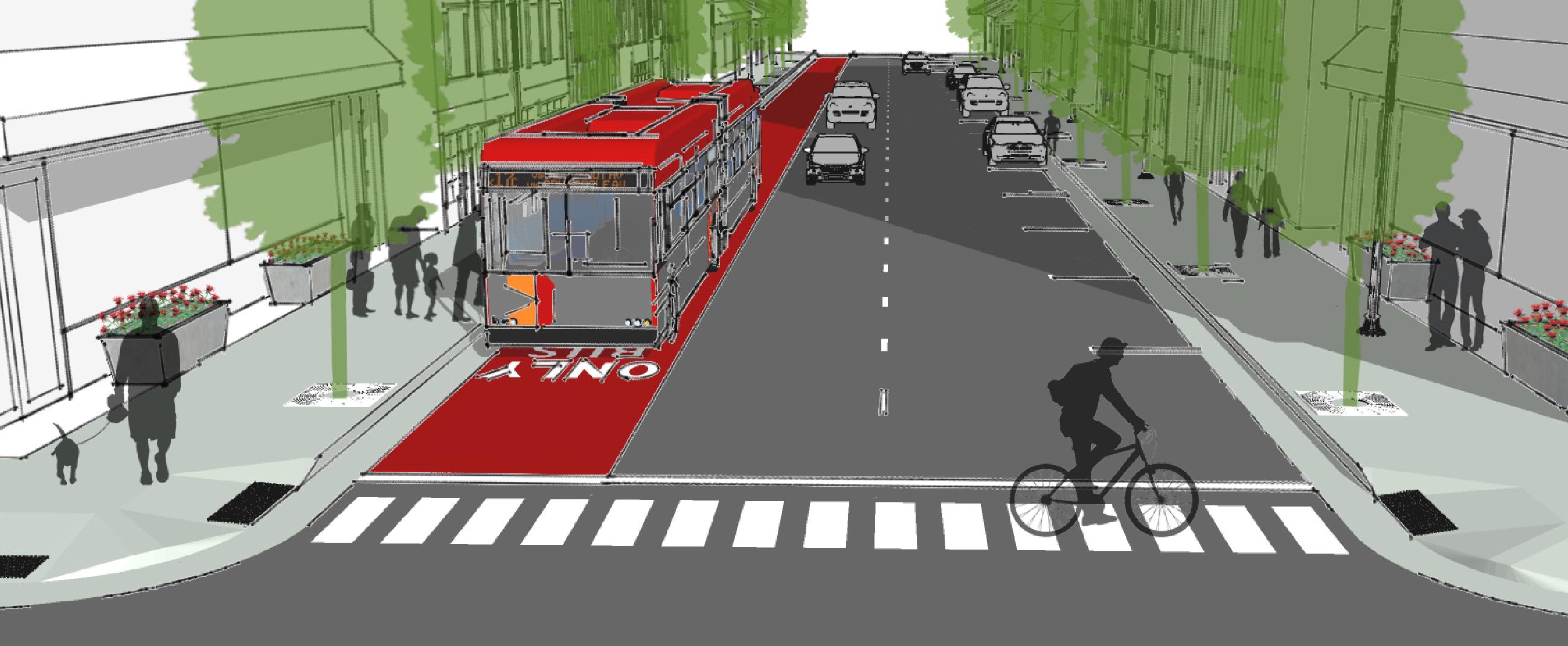 BRT rendering