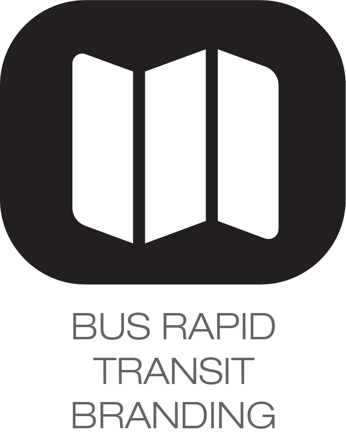 bus rapid transit icon
