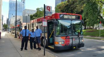 park and ride shuttle drivers