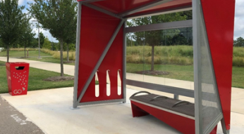 Custom Red Shelter Design