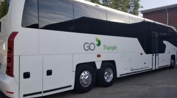 MCI 45-foot coach bus transit GoTriangle