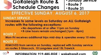 08/17 Service Changes