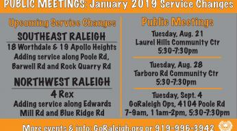 GoRaleigh public meetings