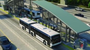 Bus Rapid Transit rendering