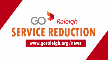 Service Reduction for GoRaleigh