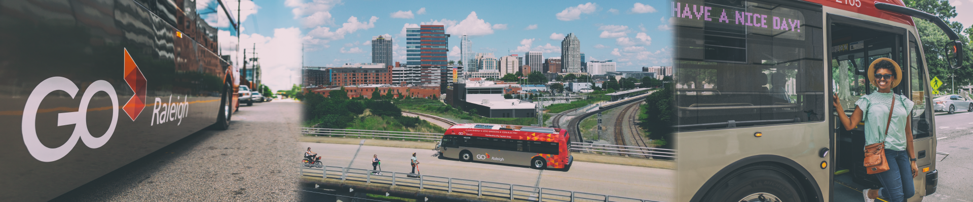 GoRaleigh Bus images